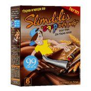 חטיף דגנים שוקולד חלב סלים דליס קידס Slimdelis
