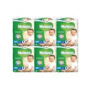 שישה מארזי רביעיית מגבונים לחים לתינוק ללא בישום האגיס